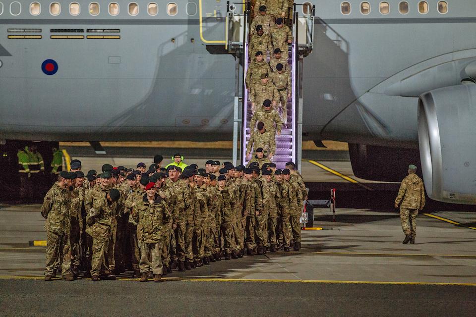 News story: UK troops arrive in Estonia for major NATO deployment